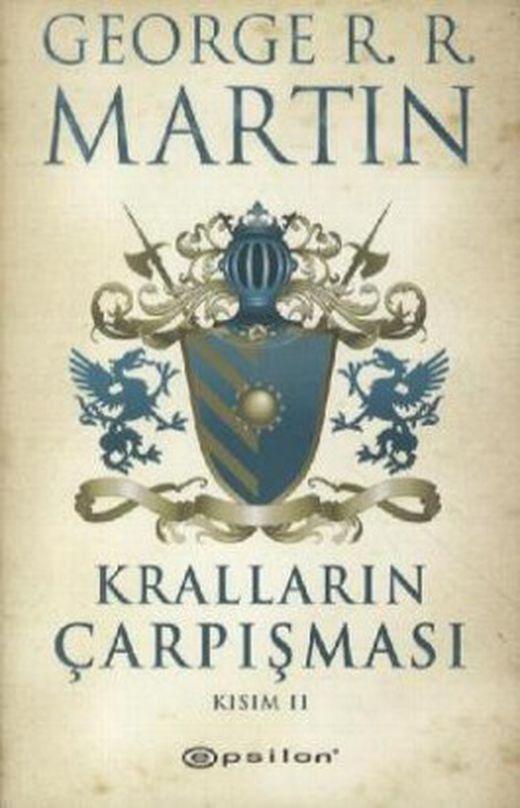Krallarin carpismasi kisim 2  das lied von eis und feuer   die saat des goldenen loewen  tuerkische au 9789944824651 xxl