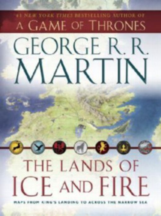 The lands of ice and fire 9780345538543 xxl