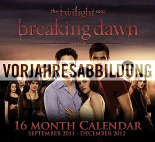 Twillight   breaking dawn ii 16 monats broschurkalender 2013 9783840120121 xxl