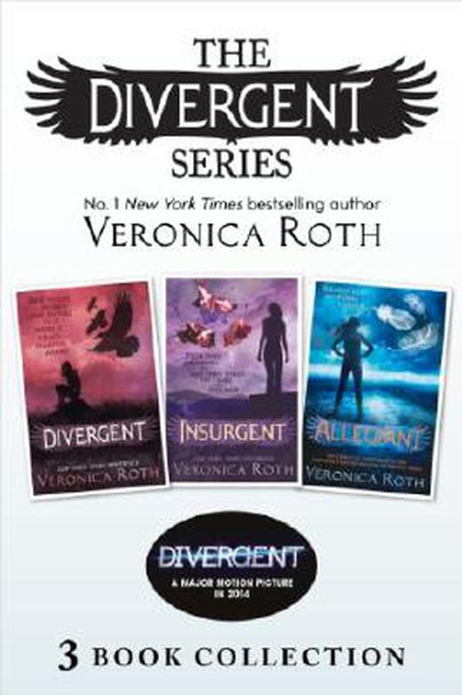 Divergent series  books 1 3  9780007554812 xxl