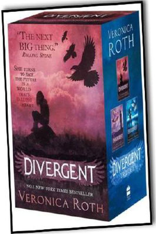 Veronica roth divergent insurgent allegiant trilogy 3 books collection set b00g6rl8n4 xxl