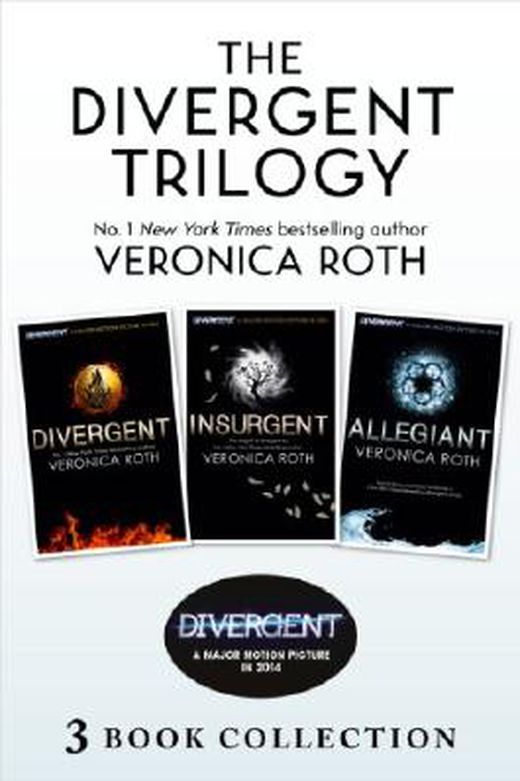 Divergent trilogy  books 1 3  9780007554829 xxl