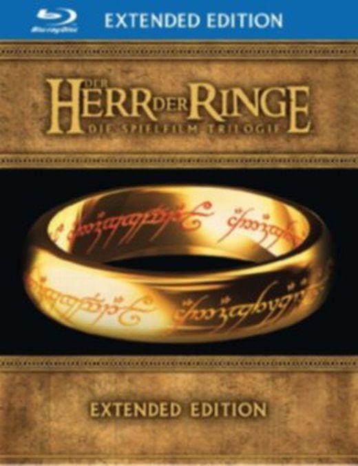 Der herr der ringe  die spielfilm trilogie  extended edition  15 disc set  6 blu rays   9 dvds  5051890025531 xxl
