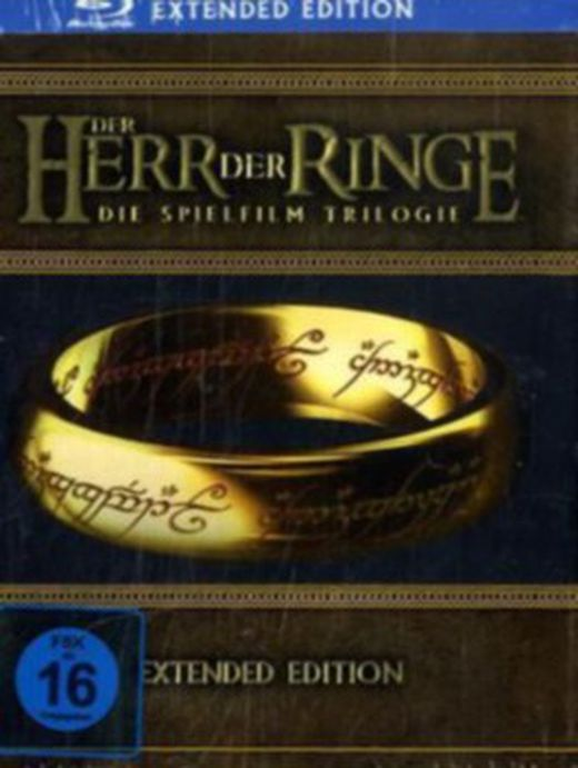 Der herr der ringe  die spielfilm trilogie  extended edition  15 disc set  6 blu rays   9 dvds  5051890045188 xxl