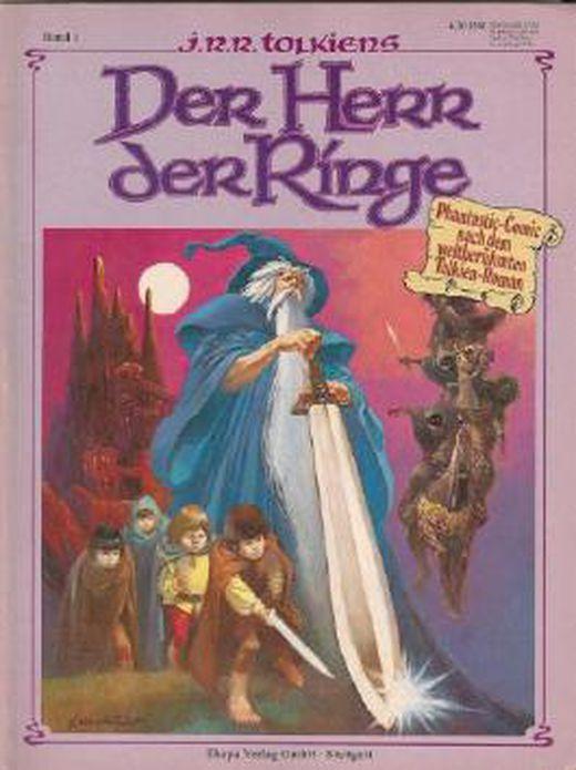 Tolkiens  der herr der ringe comic band 1   phantastic comic nach dem weltberuhmten tolkien roman  b007a2k04c xxl