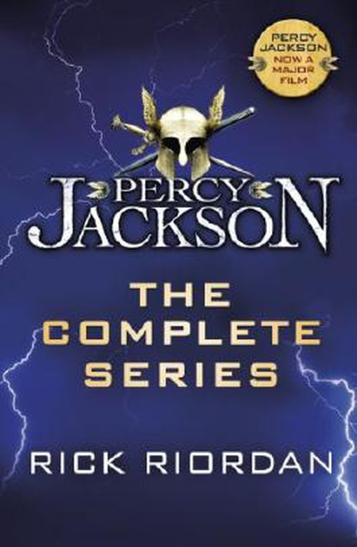Percy jackson  the complete series  books 1  2  3  4  5  9780141352015 xxl