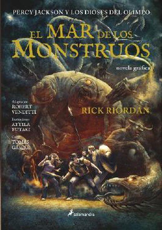 El mar de los monstruos  percy jackson y los dioses del olimpo 9788498385489 xxl