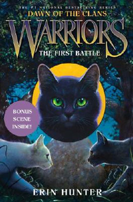Warriors  dawn of the clans  3  the first battle 9780062063571 xxl