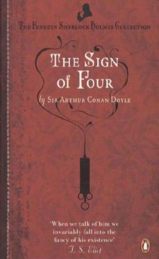 The sign of four  das zeichen der vier  englische ausgabe 9780241952962 xxl