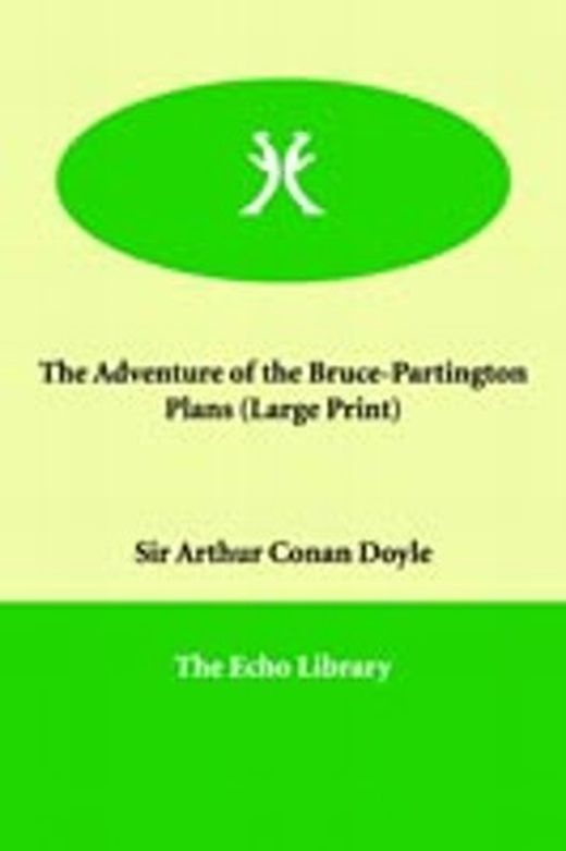The adventure of the bruce partington plans 9781846372704 xxl