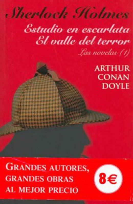 Sherlock holmes  estudio en escarlata   el valle del terror  a study in scarlet   the valley of fear 9788420666488 xxl