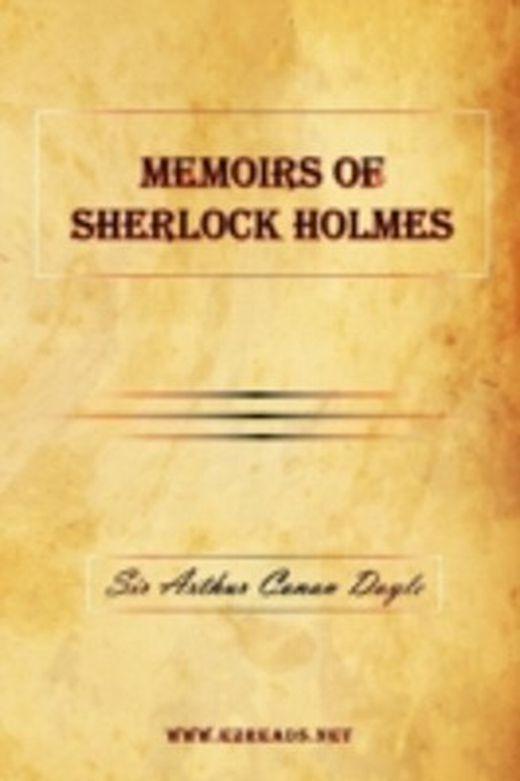 Memoirs of sherlock holmes 9781615341603 xxl