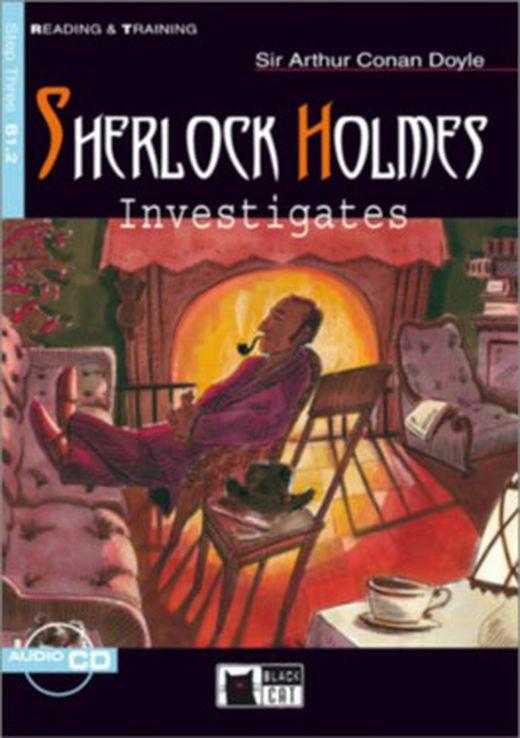 Sherlock holmes investigates   buch mit audio cd 9783526521747 xxl