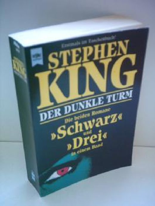 Stephen king  der dunkle turm   die beiden romane  schwarz  und  drei  in einem band b00dkacuzu xxl