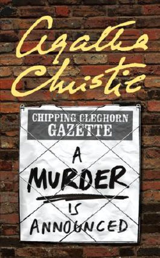 A murder is announced  miss marple  9780007422524 xxl