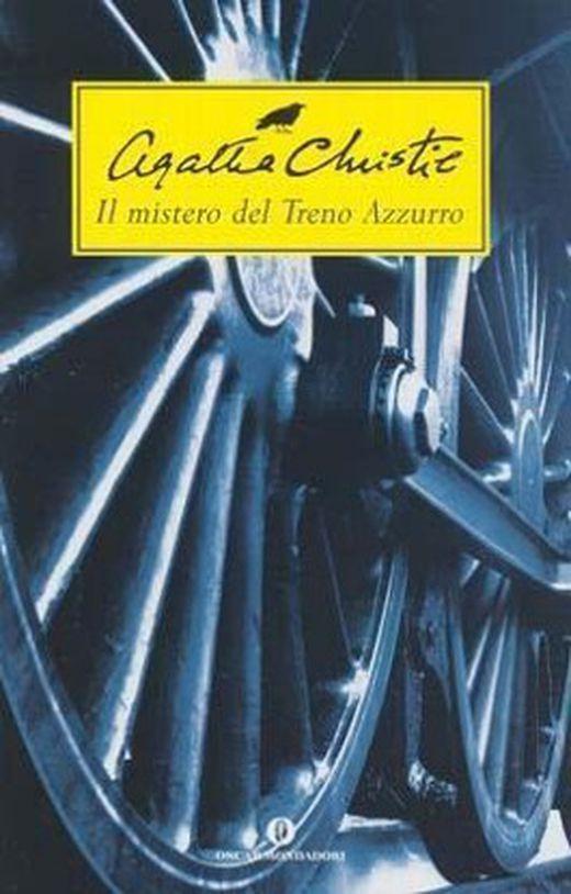 Il mistero del treno azzurro  der blaue express  italienische ausgabe 9788804507536 xxl