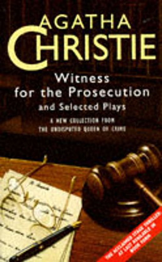 Witness for the prosecution 9780006490456 xxl