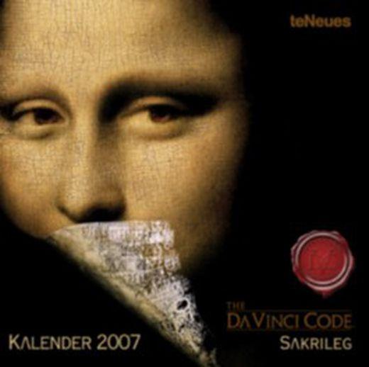 The da vinci code  broschuerenkalender 9783832717537 xxl