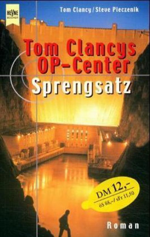 Tom clancy s op center  sprengsatz 9783453180130 xxl