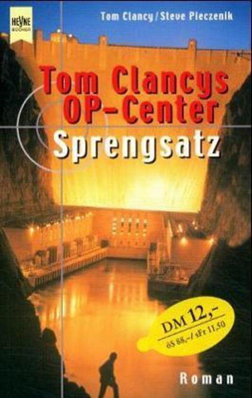 Tom clancy s op center  sprengsatz 9783453180130 xxl