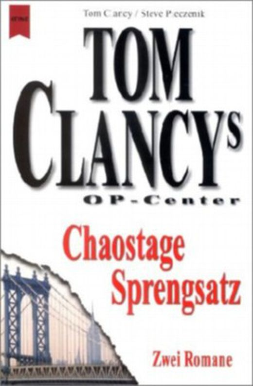 Tom clancys op center  chaostage  tom clanys op center  sprengsatz 9783453861855 xxl
