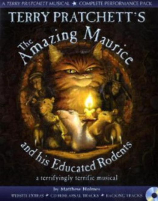 Terry pratchett s the amazing maurice and his educated rodents 9781408145630 xxl