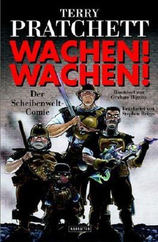 Wachen  wachen   der scheibenwelt comic  ein scheibenwelt comic von terry pratchett ausgabe 1  aufla b00bwepk7q xxl