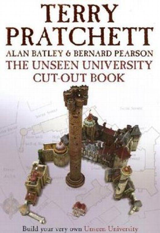 The unseen university cut out book 9780385609449 xxl