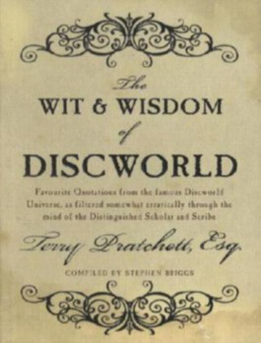The wit and wisdom of discworld 9780552159463 xxl