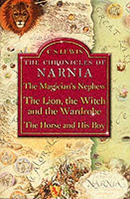 The magician s nephew with  the lion  the witch and the wardrobe  and  the horse and his boy  9780007109944 xxl