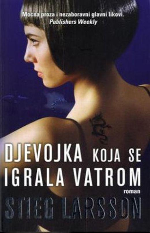 Djevojka koja se igrala vatrom  verdammnis  kroatische ausgabe 9789532661088 xxl