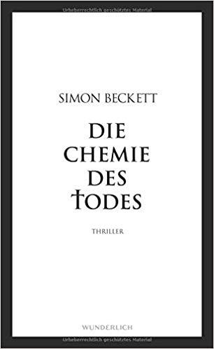 Die Chemie des Todes - Simon Beckett Reihenfolge